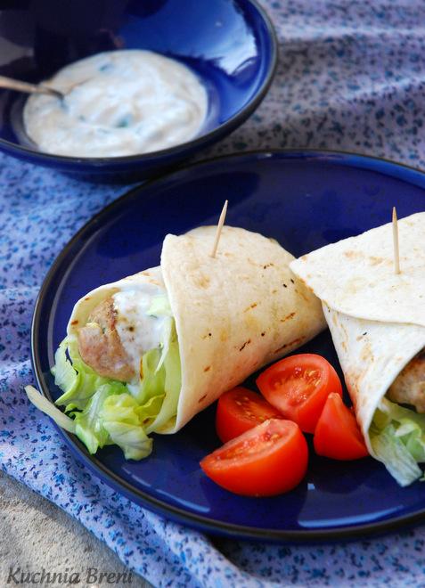 Kebab Pikantny W Salacie I Tortilli Kuchnia Breni