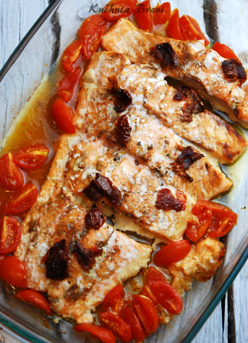 łosoś z suszonymi pomidorami2 kuchniabreni