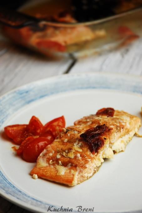 łosoś z suszonymi pomidorami4 kuchniabreni